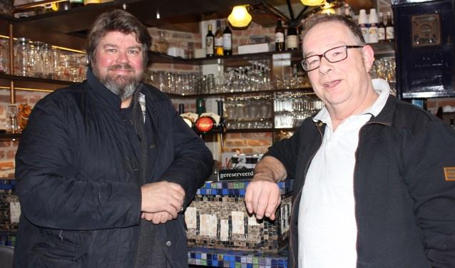 Jos den Dekker en Jan Olijslagers nodigen iedereen uit voor het vernieuwde Hoge Stoep Blues & Rock. Foto: Wendy van Lijssel.