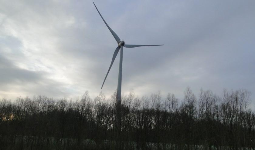 Lokaal Belang heeft vragen gesteld over de afstand van de geplande windmolens tot de omringende woningen
