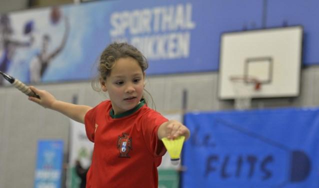 Aan het jeugdtoernooi hebben 94 spelers uit Overijssel en Gelderland meegedaan. Foto: BC Flits.