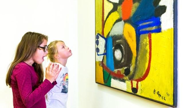 Wat zouden deze kinderen vinden van het doek van Appel?