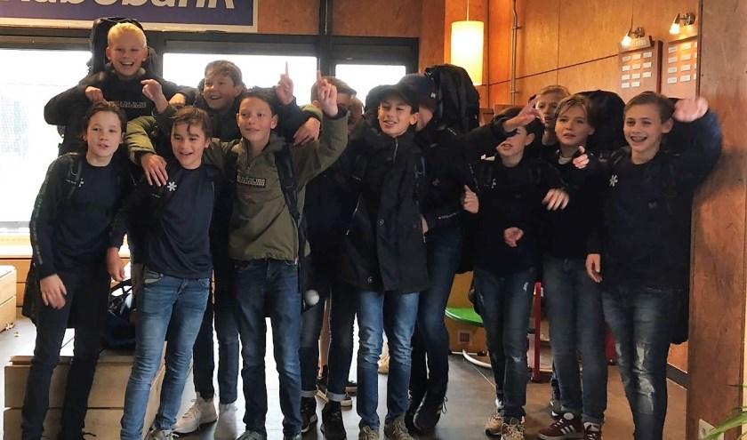 Het jonge hockeyteam JC1 van De Pelikaan is een van de genomineerden voor sportploeg van Roosendaal.