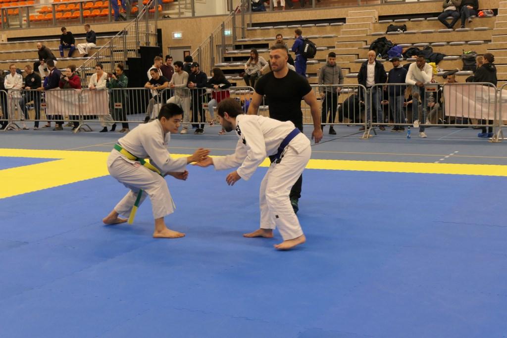 Start van een wedstrijd tijdens de Veluwe Open BJJ 2019. Foto: Sportschool Herbert © Persgroep