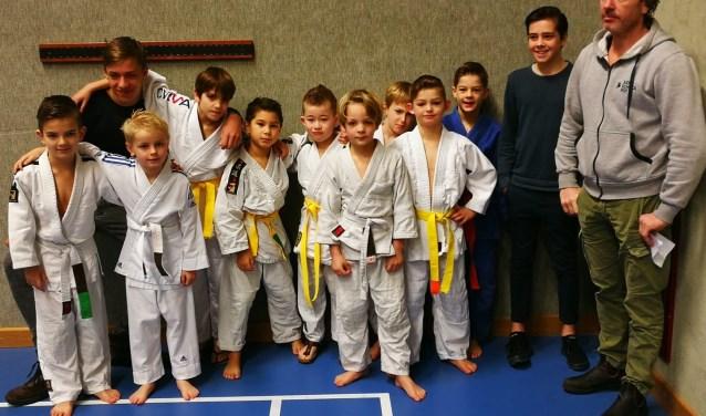 de jongste judoka´s van Judoschool Pot