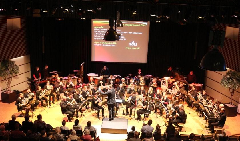 Het nieuwjaarsconcert kent een toenemende populariteit in Alblasserdam. (Foto: Privé)