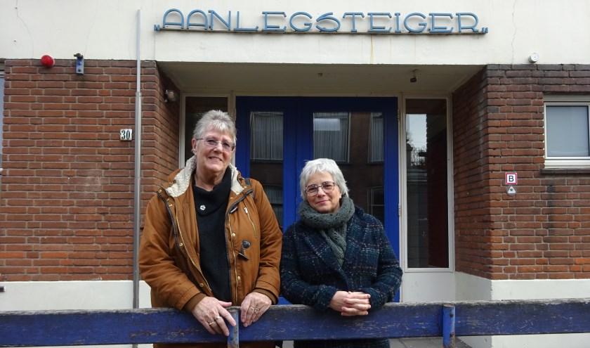 Links: Gerda Nagtegaal. Rechts: Anneke Klijn. (Foto: Eline Lohman)