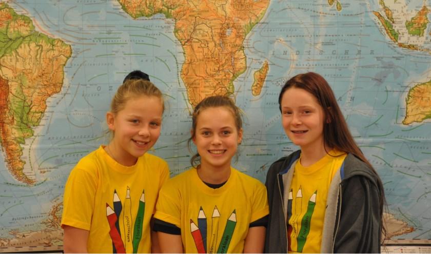 Guusje, Bo en Chrisje van basisschool Floralaan hebben de allereerste GEObattle van Brabant gewonnen.