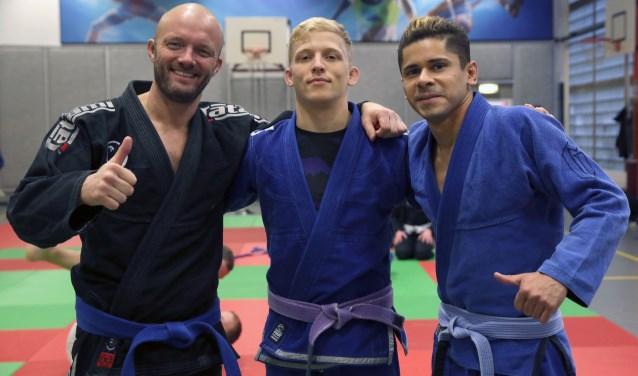 Alwin van Laar, Daniël de Groot en Johnny da Silva.