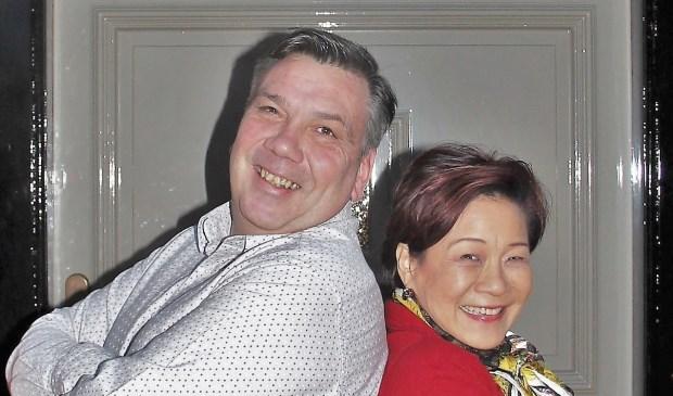 Hans Ulijn van Delausanne en Mary Liu van Moy Fa zijn de initiatiefnemers van de actie voor Stichting Máscura.