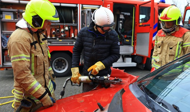 Brandweerpost Ridderkerk kan nog goed vrijwilligers gebruiken (Foto: PR)