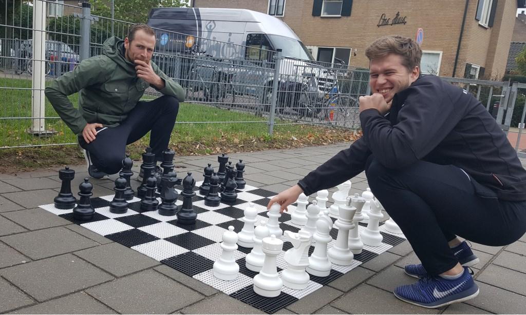 Timo Riphagen en Stefan Reynders.