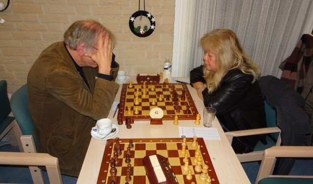 Theo van Zessen speelde remise tegen Conchita Dwars…