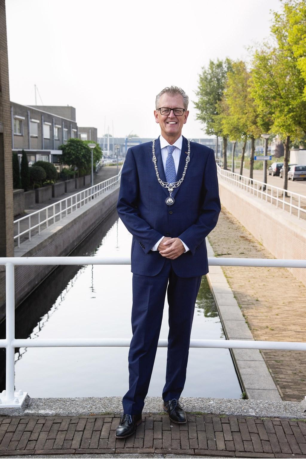 Burgemeester Gerrit Jan Gorter van Zeewolde. Foto: Josette Alkema