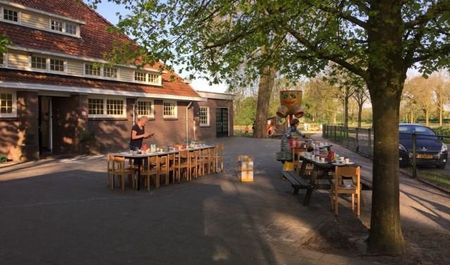 schoolplein basisschool Wiene