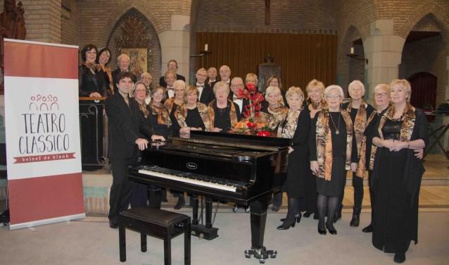 Dit is Teatro Classico dat op 13 januari een nieuwjaarsconcert in Kulturhus Denekamp verzorgt.