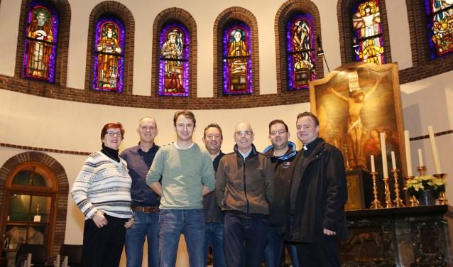 Het team achter de schermen van de Kempische Passion.