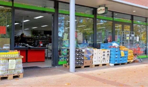 De winkel in Nieuw Dalem wordt de tweede vestiging in Gorcum van Lena Supermarkt. Eigen foto