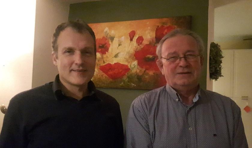 Marten Vogelaar en Heine Tillema. (foto: Ina Florusse)