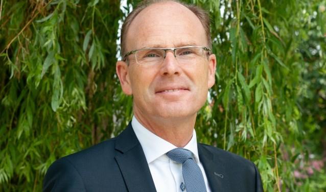 Burgemeester Schrijer. (Foto: Privé)