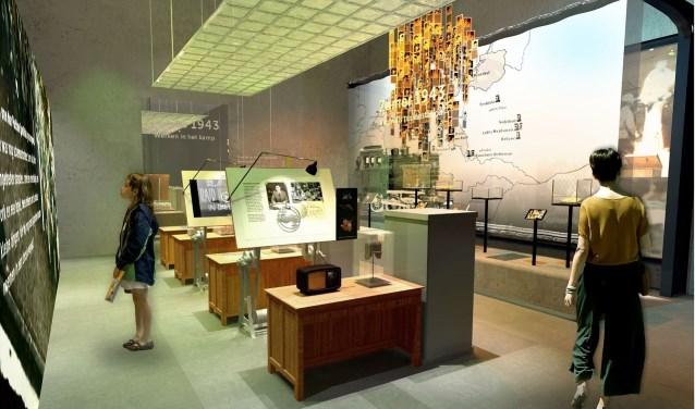 Een impressie van de nieuwe expositie door Perspekt.