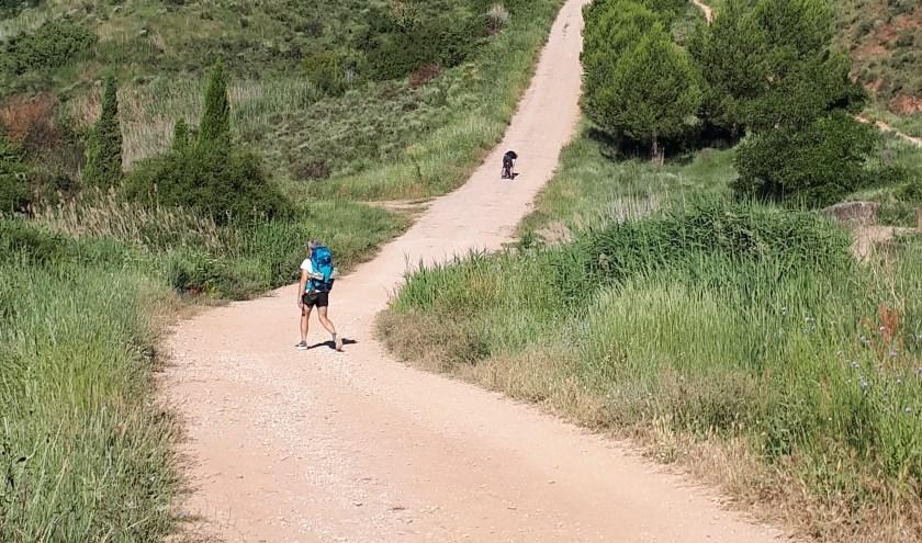 Cor Verberk maakte een voetreis naar Santiago de Compostella.