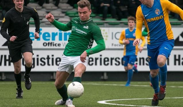 Middenvelder Bas ter Hogt, die HSC'21 na dit seizoen verruilt voor zaterdaghoofdklasser SVZW, kon het verschil evenmin maken.