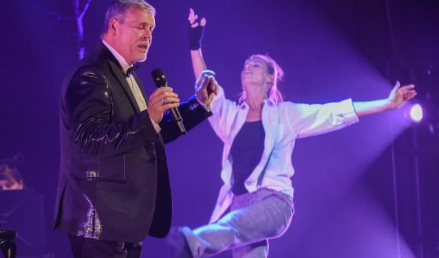Optredens tijdens de nieuwjaarsvoorstelling. Kijk voor meer foto's op pagina ..Foto: Ronald Stam