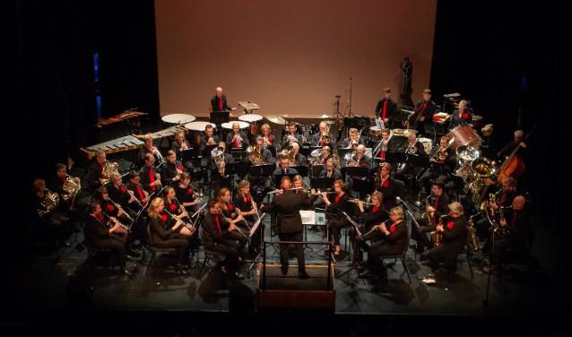Het Helmonds Muziek Corps. Foto: Claudette de Haas.