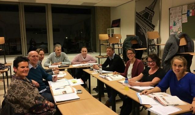 Franse les bij de Alliance Française