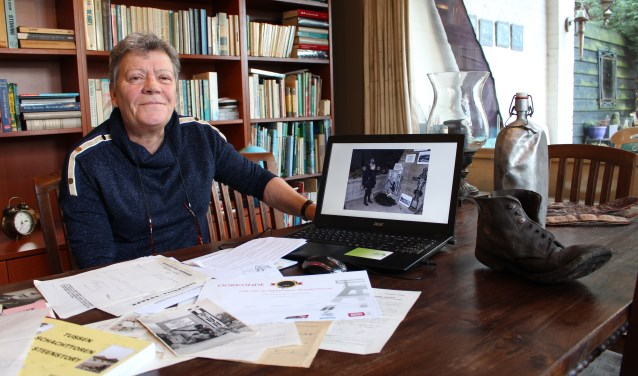 Mijnwerkersdochter Christien Dielesen verdiepte zich in het verleden van haar vader.