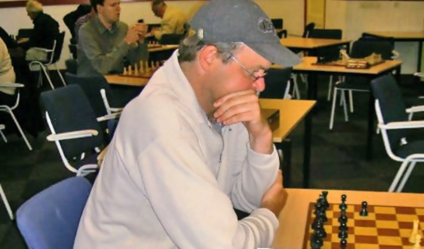 Harry Verhoef droeg het winnende punt aan.