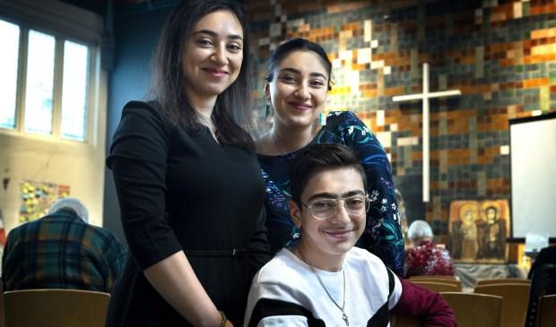 De Armeense familie Tamrazyan.