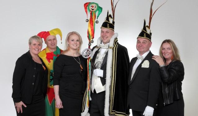 Paul Broeren is de nieuwe prins van carnavalsvereniging De Scheresliepers uit Katwijk. (foto: Berry Poelen)