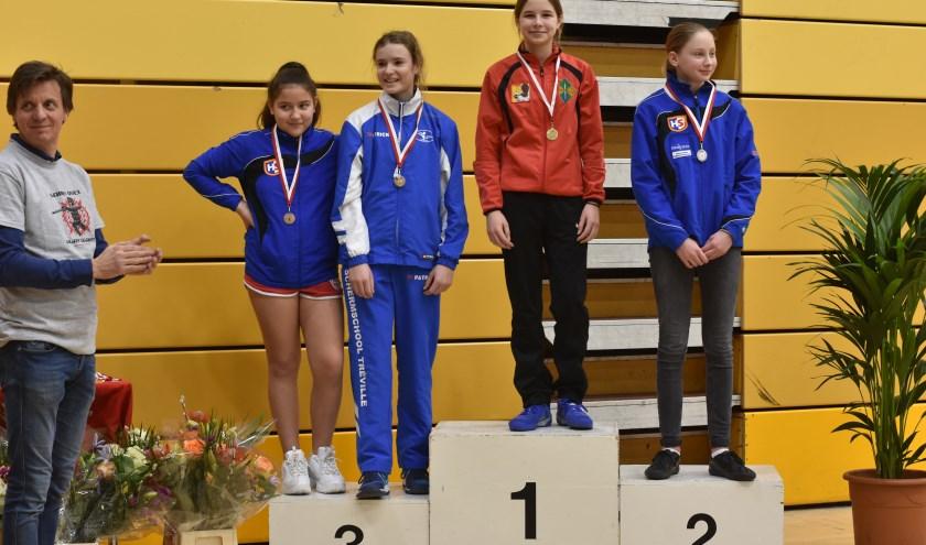 Valerie Buijse op de 1ste plaats
