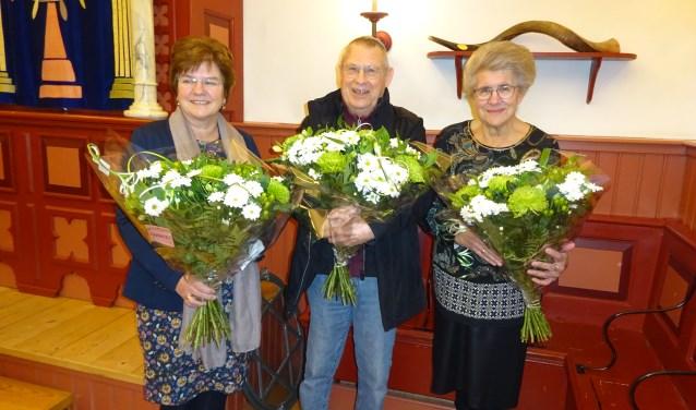 Van links naar rechts: Annelies Tanis, Pim Wolff en Jansje 't Jong. (Foto: Eline Lohman)