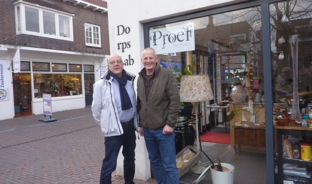 Schatbewaker Alcuin Olthof en Willem Hermans