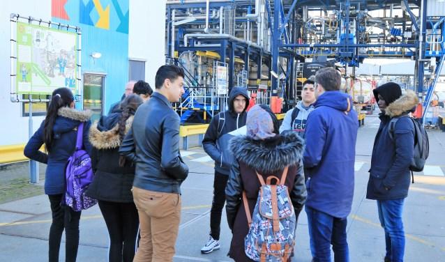 Bedrijfsbezoek tijdens de week van de procestechniek. Foto: PR