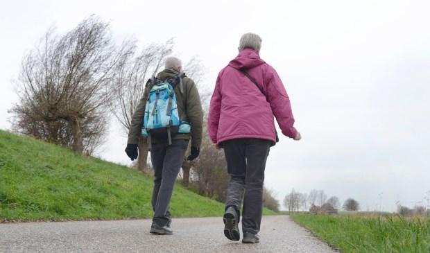 Wandelvereniging Voor de Wind pakt uit met een uitdagende tocht.