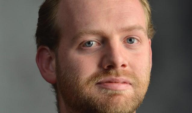 Matthijs Pontier van Code Oranje spreekt donderdag 24 januari bij Studio Idee in Loenen aan de Vecht.