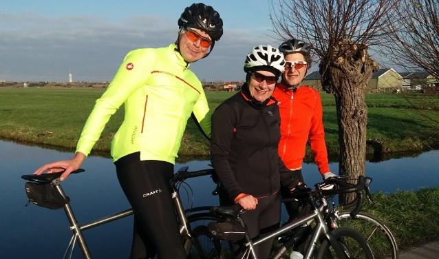 Team Groeten Thuis. Op zaterdag 19 januari is er een spinningmarathon in Woubrugge om geld op te halen voor KWF.