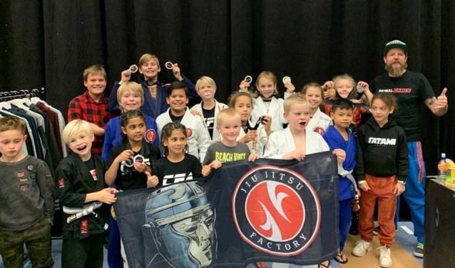 Medailles voor Jiu Jitsu-jeugd - Zuid Zenderstreek
