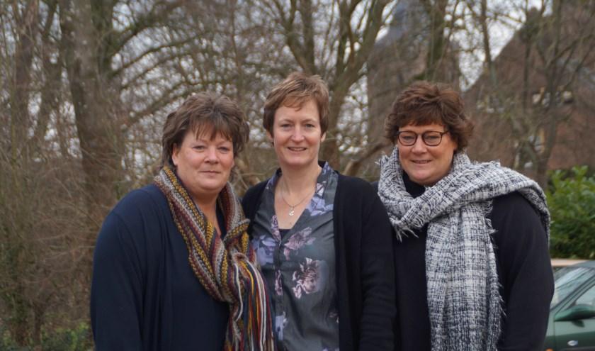 Drieling Diana, Jannette en Christien zijn 50 jaar geworden.