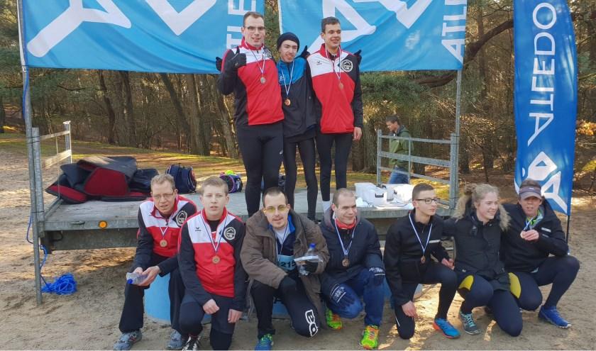 De VB atleten van Atletiek Club Waalwijk waren goed vertegenwoordigd bij de laatste cross van het seizoen.