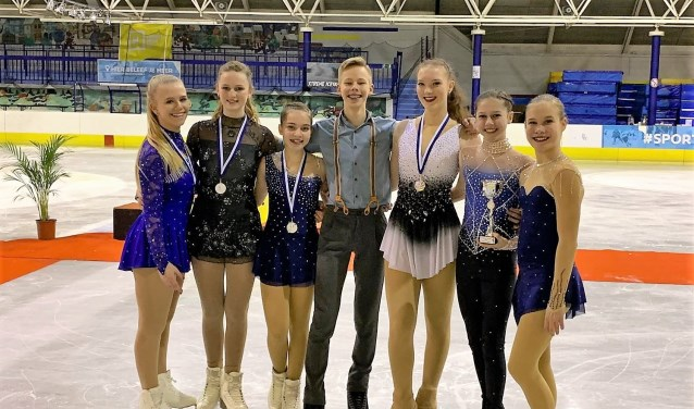 Goud voor kunstrijder Didier Dijkstra in internationale Ice Talent Trophy 2019. Foto: Matthijs Bijkerk