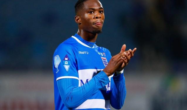 'King' in de verloren wedstrijd afgelopen zaterdag tegen De Graafschap (0-3).