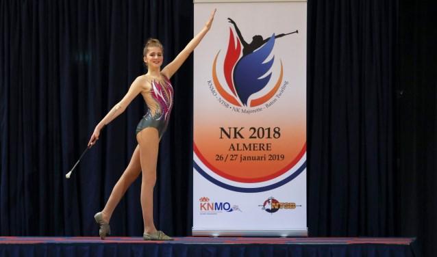 Yanna Busch haalde met mooie resultaten het podium. Foto: Bert Busch