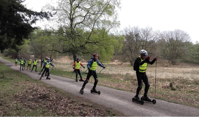 In maart en april kun je bij DSC Nordic sports in 6 weken tijd kennis maken met rolskiën en cross-skaten in Diepenveen.