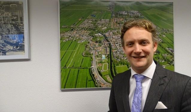Burgemeester Verhoeve vindt het zorgelijk dat er zoveel hennepkwekerijen zijn aangetroffen in Oudewater. (Foto: Margreet Nagtegaal)