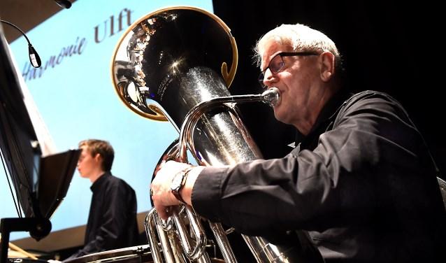 """Theo Schepers (83) heeft na 65 jaar afscheid genomen van de Harmonie Ulft. """"Hij was een echte verenigingsman."""""""