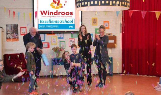 Feest voor de Windroos; een Excellente school