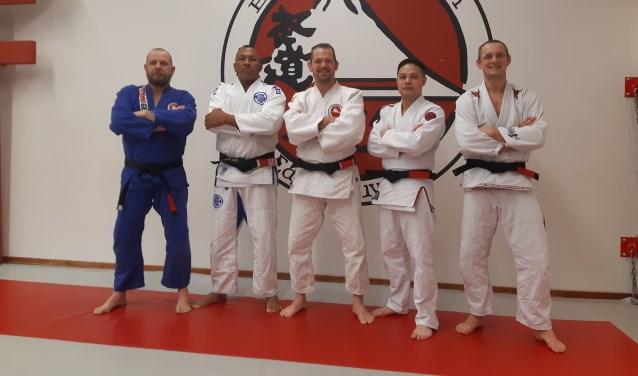 Edgar Kruyning, Carlos Toyota, Minh ho, Marco Querreveld en Erik van der Wal